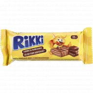 Конфеты вафельные «Rikki» со вкусом шоколада, 35 г.