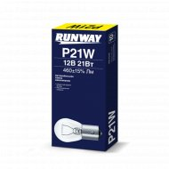 Лампа накаливания P21W 12В 21Вт, 10 шт.