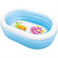 Бассейн надувной детский «Intex» Морские друзья, 163x107 см