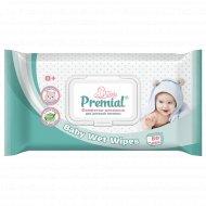 Салфетки влажные «Premial» для детской гигиены, 80 шт.