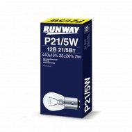 Лампа накаливания P21/5W 12В 21/5Вт, 10 шт.