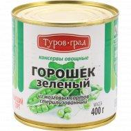 Горошек зеленый «Туров-град» из мозговых сортов, 400 г.