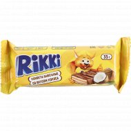 Конфеты вафельные «Rikki» со вкусом кокоса, 35 г.
