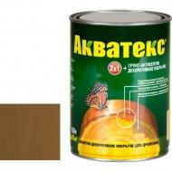 Защитно-декоративный состав «Акватекс»дуб, 0.8 л
