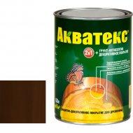 Защитно-декоративный состав «Акватекс»махагон, 0.8 л