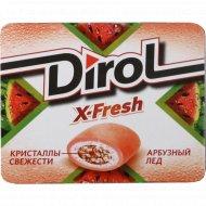 Жевательная резинка «Dirol X-Fresh» арбузный лед 16 г.