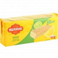 Вафли «Яшкино» со вкусом лимон-лайм, 300 г.
