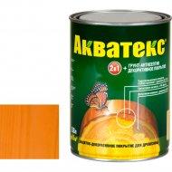 Защитно-декоративный состав «Акватекс»орегон, 0.8 л