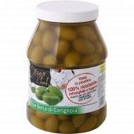 Оливки зелёные крупные «Citres» с косточкой, 2300 г.