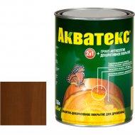 Защитно-декоративный состав «Акватекс»орех, 0.8 л