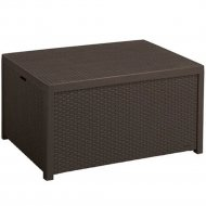Стол «Keter» Arica storage table, коричневый.
