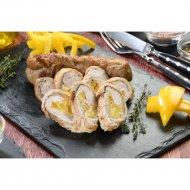 Рулетик из свинины с сыром и свежим перцем, 2 шт., 320  г.