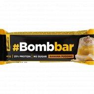 Батончик глазированный «Bombbar» банановый пудинг, 40 г