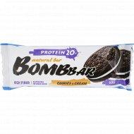 Батончик неглазированный «Bombbar» печенье-крем, 60 г