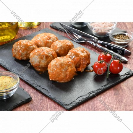 Тефтели в томатном соусе готовые 2 шт, 300 г.