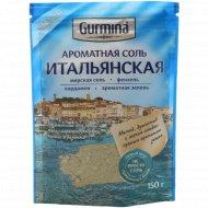 Ароматная соль «Gurmina» итальянская, 150 г.
