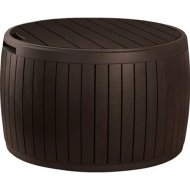 Стол «Keter» Circa Wood Box, коричневый.