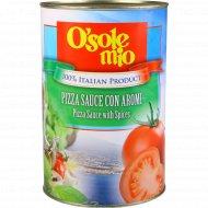 Томатная основа для пиццы «O'Sole Mio» со специями, 4.1 кг.