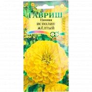Цинния «Исполин» желтый, 0.3 г.