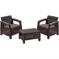 Комплект мебели «Keter» Corfu II Weekend Set, коричневый.
