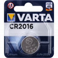 Элемент питания «Varta Electronics» CR 2016, 3 V.