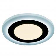 Светильник «TruEnergy» с подсветкой, круглый, 3+2 W, IP 20.