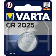 Элемент питания «Varta Electronics» CR 2025.