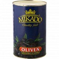 Маслины черные «Mikado» резаные, 4100 г.