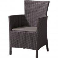 Кресло «Allibert» Iowa DC, коричневый