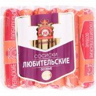 Сосиски вареные «Любительские особые» высшего сорта, 395 г