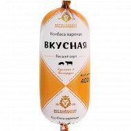 Колбаса вареная «Вкусная» высший сорт, 400 г.