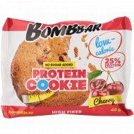 Печенье неглазированное «Bombbar» вишня, 40 г