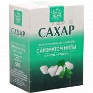 Сахар прессованный «Городейский» с ароматом мяты, 500 г.