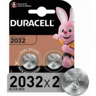 Комплект батареек «Duracell» CR2032, 2 шт