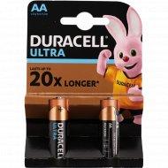 Батарейки «Duracell Ultra» АА, 2 шт.