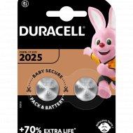 Комплект батареек «Duracell» CR2025, 2 шт