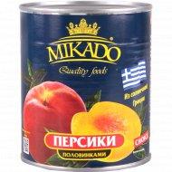 Персики «Mikado» половинками 820 г.