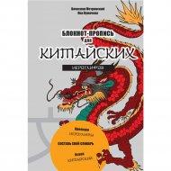 Блокнот-пропись для китайских иероглифов «Чудесный дракон».
