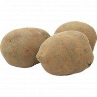Картофель красный ранний свежий, 1 кг., фасовка 1.9-2.1 кг