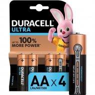 Комплект батареек «Duracell» UltraPower LR6/MX1500, 4шт