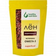 Семена льна «Healthy nutrition» коричневые, 200 г