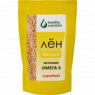 Семена льна «Healthy nutrition» белые, 200 г