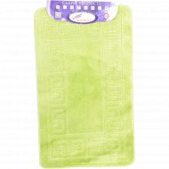 Набор ковриков для ванной комнаты, 60x100+60x50 см, бисквитный.
