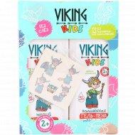 Подарочный набор «Viking kids №1» + переводная временная татуировка, 600 мл.