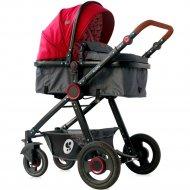 Детская коляска «Lorelli» Alexa 3в1 Red Black Lighthouse.