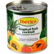 Тропический фруктовый коктейль «Iberica» с соком маракуйи, 435 мл.