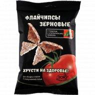Снеки зерновые «Flychips» с томатом и итальянскими травами, 40 г