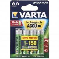 Аккумулятор «Varta» HR6, 2600mAh Ni-Mh AA -4шт