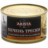 Печень трески по-балтийски «Arista» 240 г.
