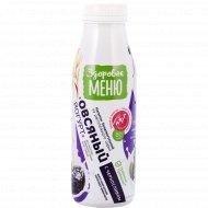 Йогурт овсяный «Здоровое меню» с черносливом, 1.3%, 330 мл.